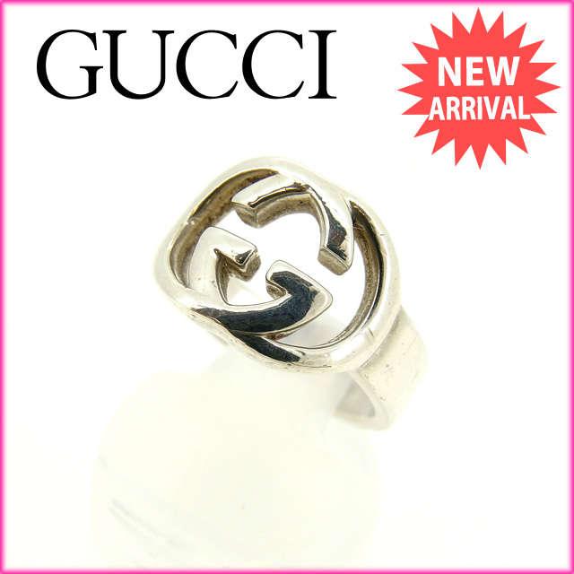 【送料無料】 グッチ GUCCI 指輪 レディース GG柄 シルバー シルバー925 (対応) 新品仕上げ【】 E826 グッチ 指輪