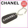 シャネル CHANEL キーリング ドッグタグ メンズ可 シルバー (あす楽対応)激安 セール【中古】 E853