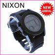 ニクソン NIXON 腕時計 クロノグラフ メンズ デジタルムーブメント THE UNIT 40 オールブラック クリスタルガラス×シリコン×ポリカーボネート (あす楽対応)新品 未使用 セール【中古】 J8012