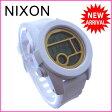 ニクソン NIXON 腕時計 クロコグラフ メンズ デジタルムーブメント THE UNIT 40 オールホワイト×ゴールド クリスタルガラス×シリコン×ポリカーボネート (あす楽対応)新品 未使用 セール【中古】 J8025