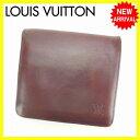 【送料無料】 ルイヴィトン Louis Vuitton 二つ折り財布 メンズ ポルト3カルトクレディ...