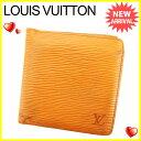 ルイ ヴィトン Louis Vuitton 二つ折り 財布 レディース メンズ 可 ポルトビエカルト...