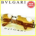 ブルガリ BVLGARI サングラス メンズ可 ブラウン 人気 セール 【中古】 J14311