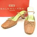 【送料無料】 バレンシアガ BALENCIAGA パンプス シューズ 靴 レディース ♯34ハーフ リボン
