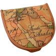 プリマクラッセ小銭いれ コインケース W301 9000 Geo Classic 世界地図柄 マップ柄 ベージュ系 【あす楽対応_関東】 【Luxury Brand Selection】