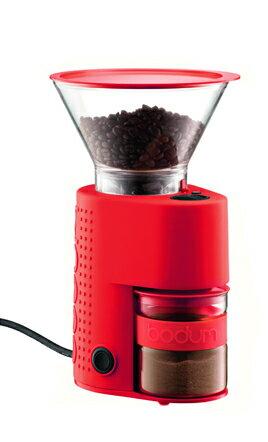 bodum ボダム BISTRO ビストロ 電気式コーヒーグラインダー レッド 10903-294