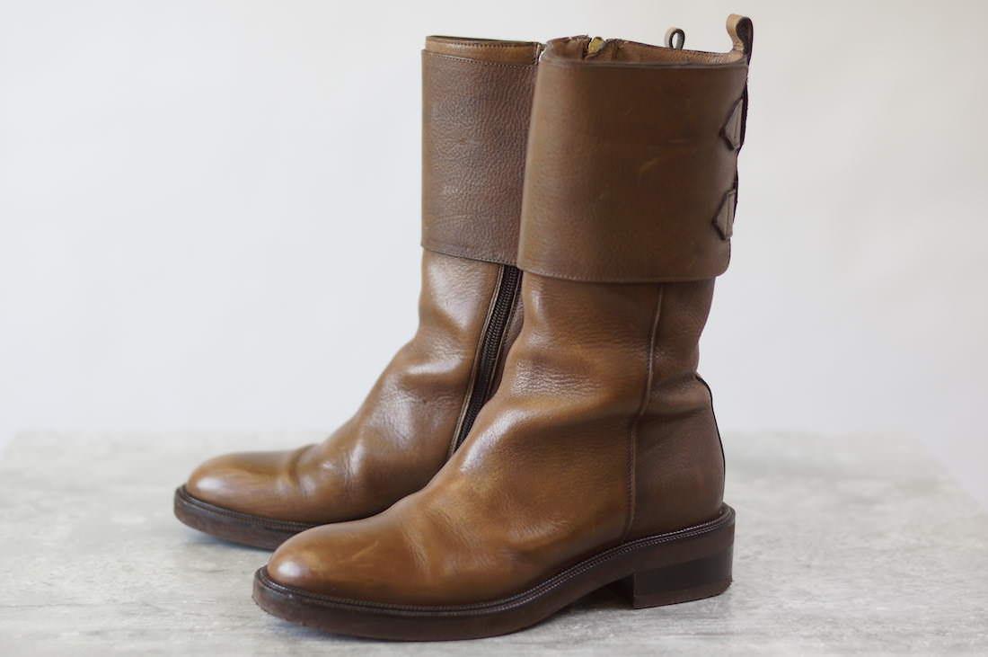 SARTORE ブーツ サルトル ロングブーツ 乗馬ブーツ ベルトストラップ【】 SARTORE ブーツ
