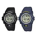 【海外モデル】カシオ ペアウォッチ 腕時計 Gショック ジーショック 同モデル 2本 10年電池機能 20気圧防水 デジタル 黒 青 ブラック ブルー G-2900F-8G-2900F-2 ブランド 男女 カップル ペアセット 誕生日 お祝い プレゼント ギフト お洒落