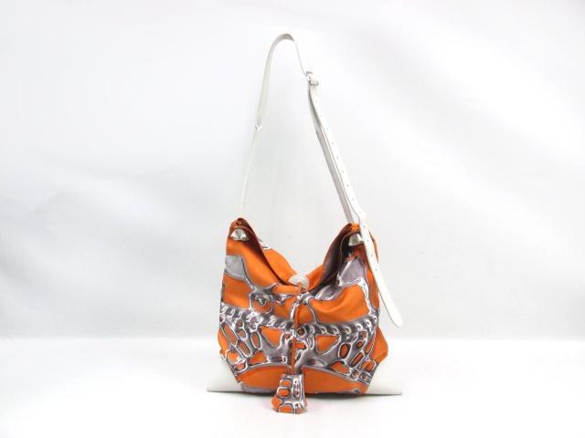 hermes silk city silk handbag