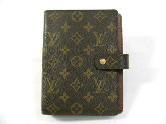 LOUIS VUITTON (Louis Vuitton) agenda MM book cover / booklet / Monogram/Monogram / (R20004) [BRANDOFF / brand off]