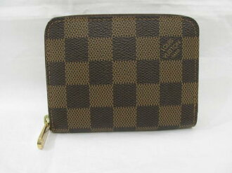 LOUIS VUITTON (Louis Vuitton) put / zippy / coin purse / coin / tea system / Damier / Damier / [BRANDOFF / brand off]