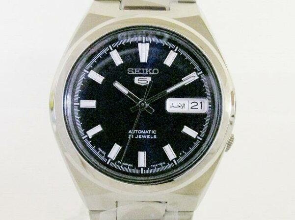 セイコー5 裏スケルトン 腕時計 ウォッチ