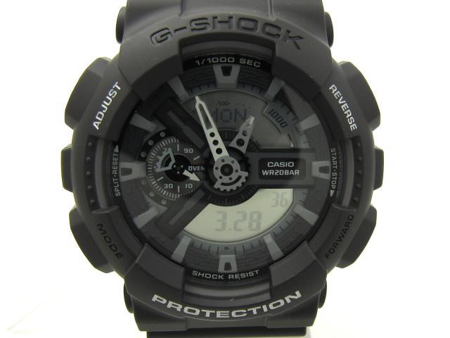 CASIO(カシオ)/G-SHOCK アナデジ 腕時計 ウオッチ/クオーツ//樹脂 (GA110C1ADR)  ブランドオフ 誕生日プレゼント 母の日 ギフト ブランド買うならブランドオフ♪ 安心の実績 高価 買取 強化中♪