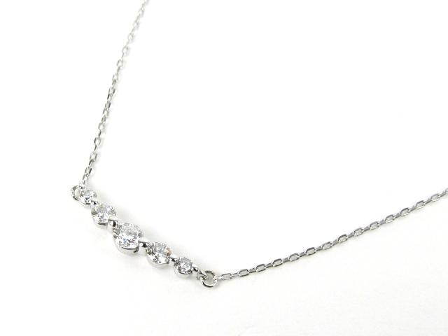 JEWELRY(ジュエリー)/ダイヤモンド ネックレス/ネックレス/K18WG(750) ホワイトゴールド ダイヤモンド(0.20ct)/【新品】 【_包装】  ブランドオフ ブランド買うならブランドオフ♪ 安心の実績 高価 買取 強化中♪