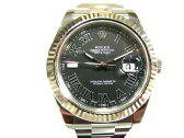 ROLEX(ロレックス)/デイトジャスト2 ウォッチ 腕時計 メンズ/オートマチック/シルバー/K18WG(750)ホワイトゴールドx ステンレススチール(SS) /【ランクA】(116334)[BRANDOFF/ブランドオフ]【中古】