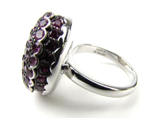 ピンクサファイア タンタシオンマカロンリング 指輪