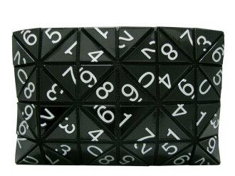 BAO BAO ISSEY MIYAKE(baobaoisseimiyake)/離合器袋限定黑色/第二包/黑色/聚氯乙烯樹脂×聚酯×尼龍/(BB53-AG621-16)[BRANDOFF/名牌斷開]