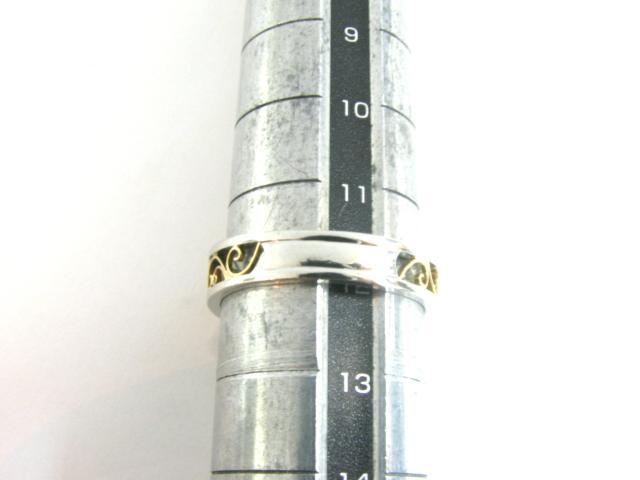 サファイアダイヤモンドリング 指輪