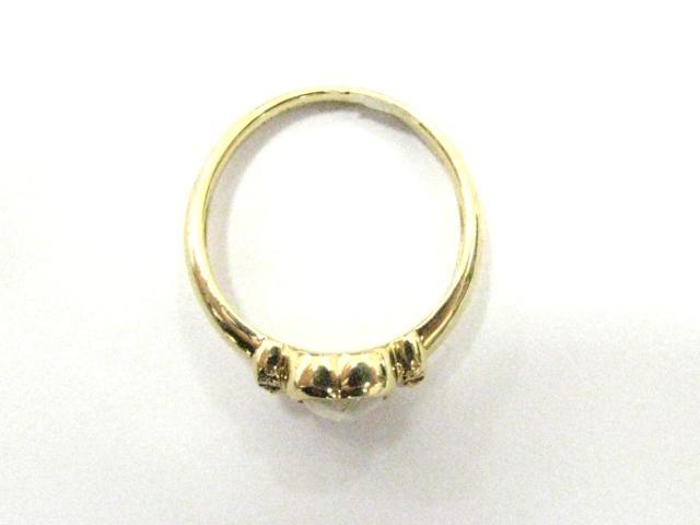 ムーンストーン ダイヤモンド リング 指輪