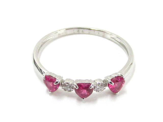 ルビーダイヤモンドリング 指輪