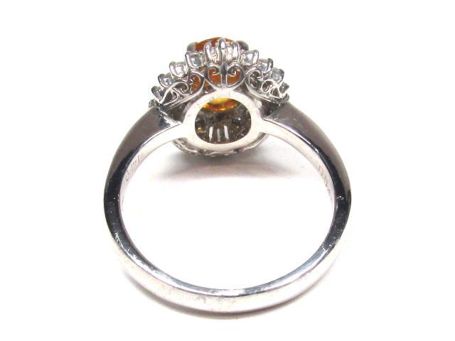 イエロー サファイア リング 指輪