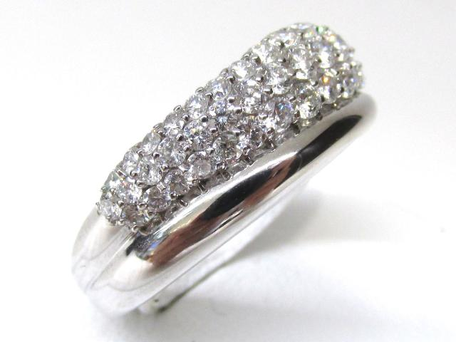 JEWELRY(ジュエリー)/ダイヤモンドリング 指輪/リング/K18WG(750) ホワイトゴールドx ダイヤモンド(1.0ct)/【ランクA】[BRANDOFF/ブランドオフ]【】 【USED品送料無料】