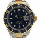 【中古】 ロレックス サブマリーナ ウォッチ 腕時計 メンズ K18YG (750)イエローゴールド x ステンレススチール (SS) (16613 A番) | ROLEX BRANDOFF ブランドオフ ブランド ブランド時計 ブランド腕時計 時計
