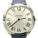 【中古】 カルティエ ドライブ ドゥ エクストラフラット 時計 ウォッチ ステンレススチール (SS) x レザー サファイアクリスタルガラス (WSNM0011) | Cartier BRANDOFF ブランドオフ ブランド ブランド時計 ブランド腕時計 腕時計