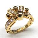 【中古】 ブルガリ アストラーレリング 指輪 レディース K18YG (750) イエローゴールド ダイヤモンド | BVLGARI BRANDOFF ブランドオフ ブランド ジュエリー アクセサリー リング