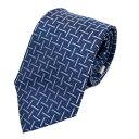 レノマ ネクタイ メンズ シルク ブルー | renoma BRANDOFF ブランドオフ ブランド スーツ