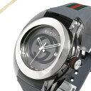 《1200円OFFクーポン対象_9月23日23:59迄》グッチ GUCCI メンズ腕時計 SYNC グッチシンク 46mm グレー YA137109A | ブランド