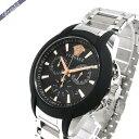 ベルサーチ メンズ腕時計 キャラクタークロノ 42mm ブラ...