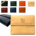 イルビゾンテ 三つ折り財布 IL BISONTE メンズ 本革 レザー 各色 C0618 | ブランド