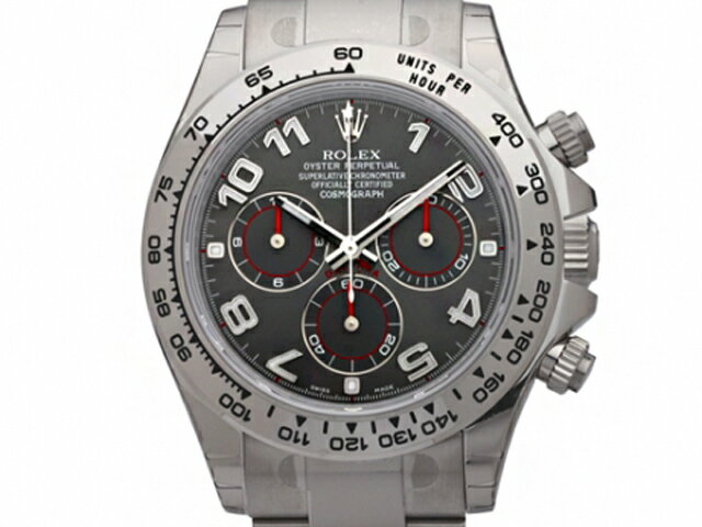 [new article] -ROLEX- Daytona Arabia oyster bracelet [116509] [gray] [self-winding watch] [men]