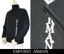 【EMPORIO ARMANI】エンポリオアルマーニ ニット ハイネック セーター ブラック