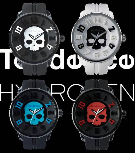 【tendence HYDROGEN】テンデンス ハイドロゲン コラボレーション限定レア 腕時計
