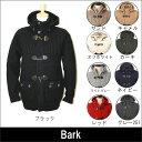 【BARK】 バーク  メンズ ダッフルコート  ニットコート  ショート丈  全10色 (BARK純正ショッピングバッグ付属)