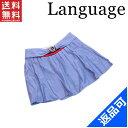 ランゲージ レディース スカート Language 291-2201 プリーツ サイズ38ミニ丈フレアー (未使用品) (未使用品) X5094