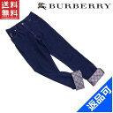 バーバリー ジーンズ BURBERRY キッズ150Aサイズ 裾ノ