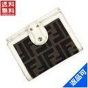 [半額セール]フェンディ FENDI 財布 二つ折り財布 Wホック財布 ズッカ 中古 X8250