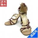ショッピングプラダ [半額セール]プラダ PRADA 靴 サンダル アンクルストラップ 中古 X9318