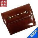 [半額セール]グッチ GUCCI 財布 二つ折り財布 Wホック財布 中古 X10964