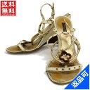 ルイヴィトン 靴 レディース サンダル LOUIS VUITTON シューズ 靴 人気 即納 【中古】 X11017