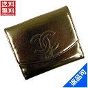 [半額セール]シャネル CHANEL 財布 二つ折り財布 Wホック財布 中古 X11160