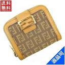 [半額セール]フェンディ FENDI 財布 二つ折り財布 ラウンドファスナー財布 ズッカ 中古 X14402