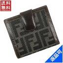 [半額セール]フェンディ FENDI 財布 二つ折り財布 ズッカ 中古 X15210