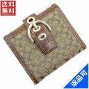 [半額セール]コーチ COACH 財布 二つ折り財布 Wホック財布 シグネチャー 中古 X16919