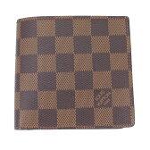 極美品 LOUIS VUITTON ルイヴィトン ダミエ 二つ折り財布 ポルトフォイユ・マルコ メンズ財布 N62664【中古】