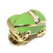 ポンテヴェキオ カーデザイン タイピン K18 イエローゴールド グリーン メンズ Ponte Vecchio 【中古】R71021024
