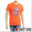 SWEET YEARS【スウィートイヤーズ】メンズTシャツ/クルーネック/オレンジ/SYU844